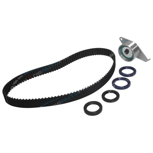 Timing Belt + Tensioner Kit suits Dauhatsu Mira L701 1.0L 3cyl EJDE DOHC 1998 1999 2000 2001 2002 2003