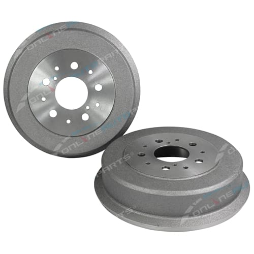 2 Rear Brake Drums suits Toyota Hiace RH11 RH20 4cyl 1.6L 12R Van Cab Chassis 1977 1978 1979 1980 1981 1982