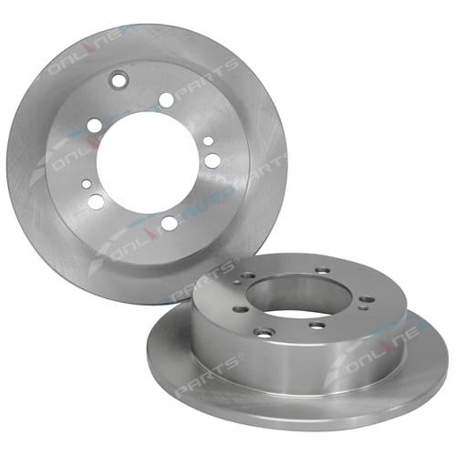 Rear Set of 2 Disc Rotor Tora