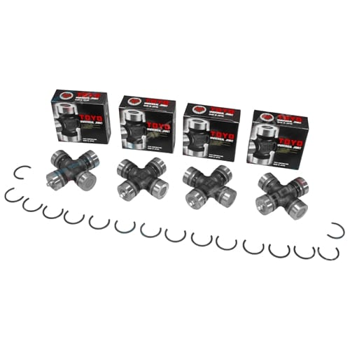 Set of 4 Universal Joints F Series Scat Rocky 4x4 F20 F25 F50 F55 F60 F65 F70 F75 F77 F80 F85 F87