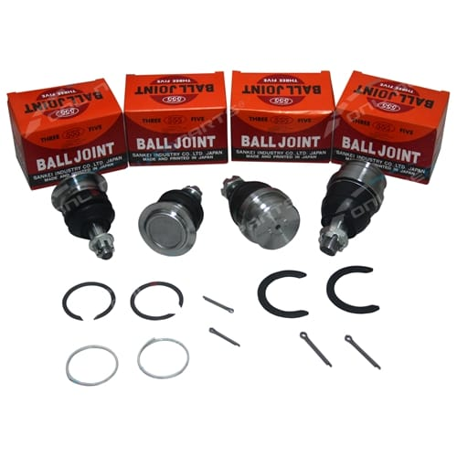 Ball Joints Kit Upper & Lower suits Landcruiser UZJ100 HDJ100 4X4 IFS Wagon Made in Japan 555 1998 to 2007