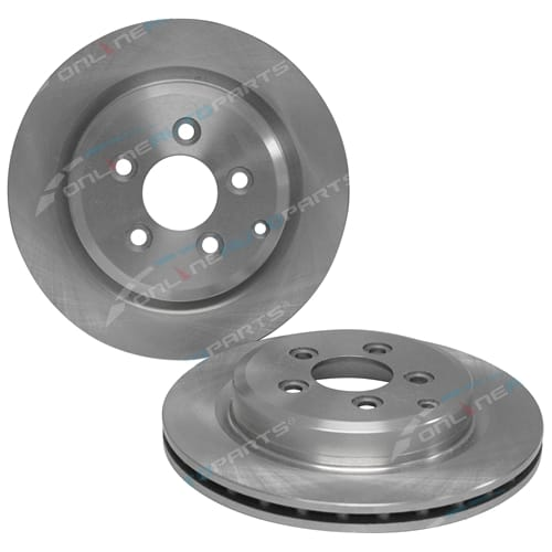 2 Rear Disc Brake Rotor Ford Territory SX SY SZ 2004-2012 RWD + AWD 6cyl Station Wagon - Pair