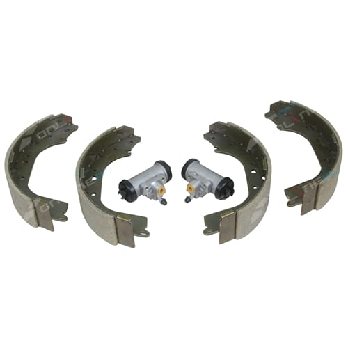 Rear Brake Shoes Wheel Cylinders Set suits Patrol GQ 1988 to 1994 4X4 Nissan Y60