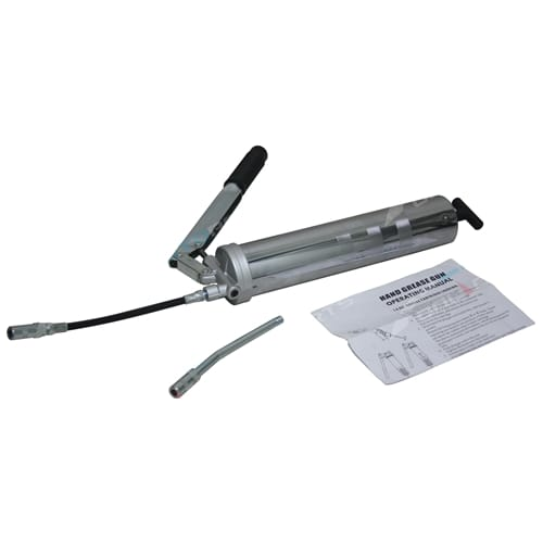 H/Duty Grease Gun Tool + Flexible Lubricant Hose takes common 450cc Aust Cartridge