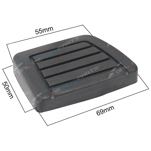 Pedal Pad (Brake or Clutch) Genuine Nissan
