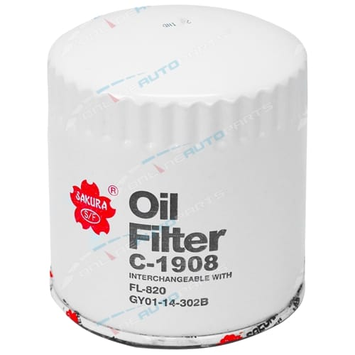 C1908 Z516 Oil Filter Sakura suits Ford Territory SY MK II