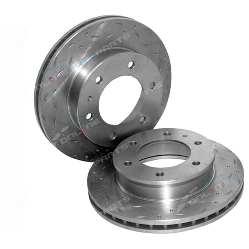 Disc Rotor (Front LH or Front RH) Tora