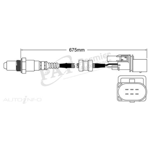 Oxygen O2 Sensor Aftermarket OEM Replacement