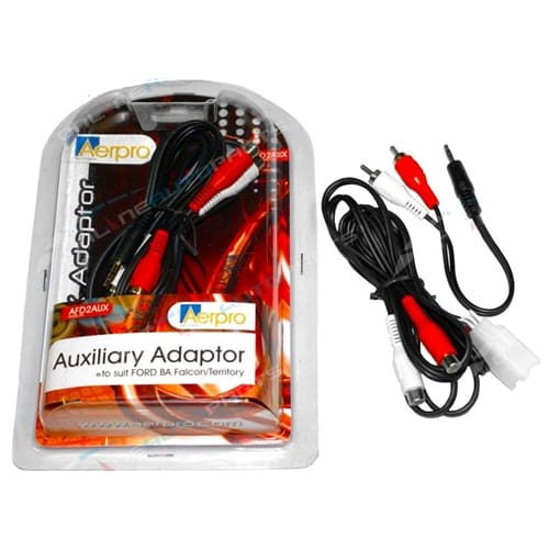Ford BA BF Falcon + SX SY Territory Auxilary Cable Adaptor Cable IPod IPhone IPad MP3