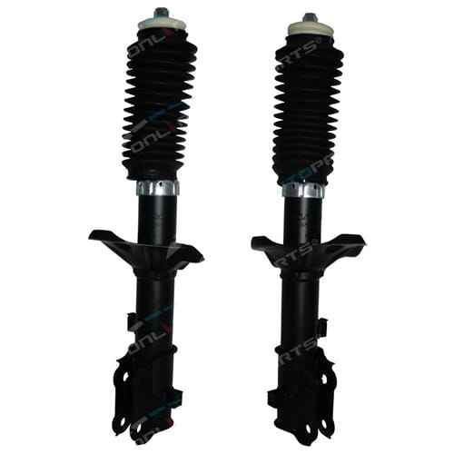 Front LH + RH Strut Shock Absorbers Accent LC LS Hyundai 2000-4/2006 GL GLS Sedan + Hatch-back