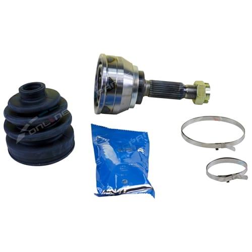 Outer Right CV Joint & Boot Kit Sonata 3/89-7/98 4cyl 2.0L 2.4L GL GLS GLE Sedan