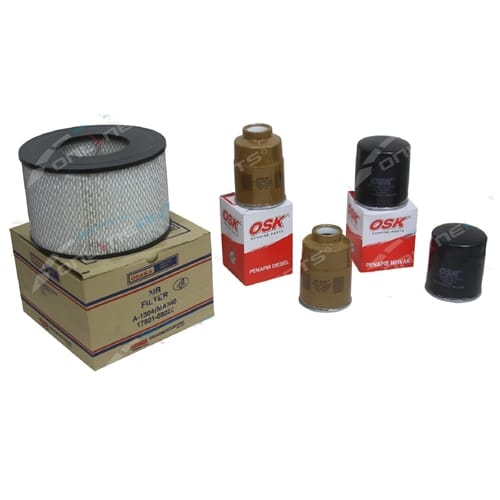 Filter Service Kit Air Oil Fuel suits 1HZ Diesel HZJ75 HZJ80 75 80 Series