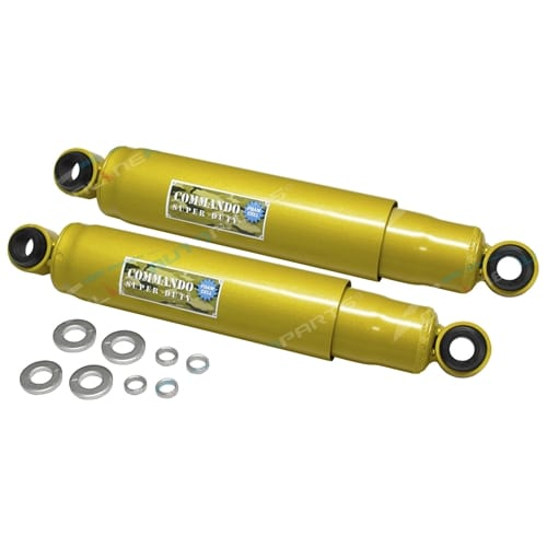 2 Rear Foam Cell Shock Absorbers 4x4 suits Landruiser VDJ VDJ76 VDJ78 VDJ79 V8 76 78 79 Series toyota