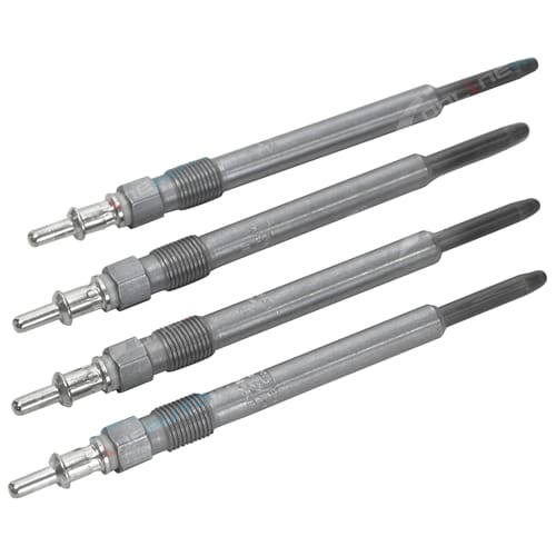 Set of 4 Bosch Glow Plugs Mercedes-Benz C220 CDI W203 Diesel OM611.962 2.2L 4cyl 2001 2002 2003 2004 2005 2006 2007