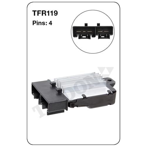 1 x Heater Fan Resistor (Tridon)
