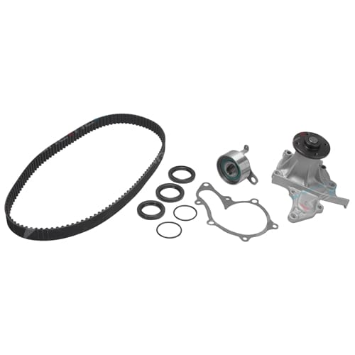 Timing Belt + Water Pump Kit suits Toyota Corolla AE102 AE112 4cyl 7A-FE 1.8L 1762cc Engine Toyota 1994 to 2001