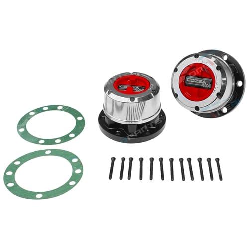 Free Wheeling Hub Set Cozza 4x4