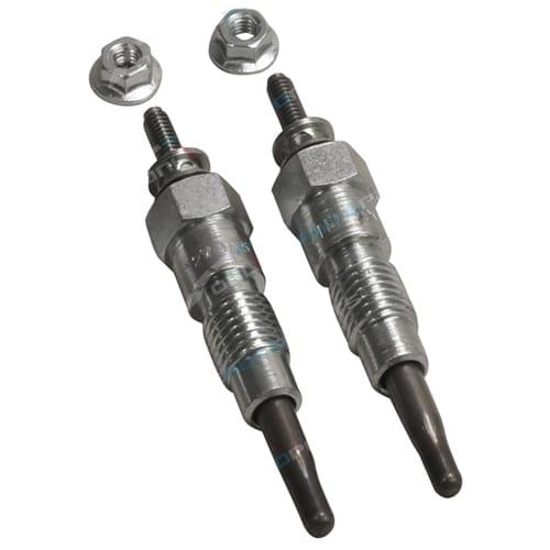 Set of 2 Glow Plug Etecno Double Coil