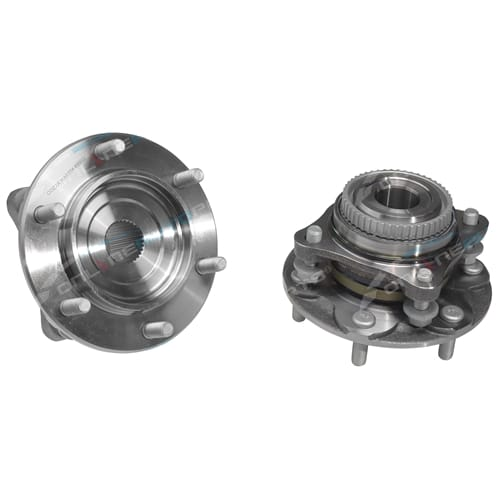 2 x Front Wheel Bearing Hubs Assembly suits Toyota Hilux GGN25 KUN26 4X4 2005 to 2015