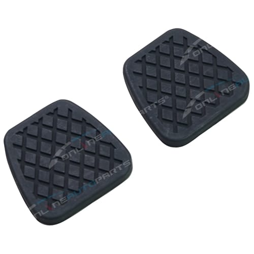 Nissan Patrol GU Y61 Clutch / Brake Pedal Rubbers Genuine Manual Pad Covers Pair