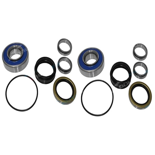 2 Rear Wheel Bearing Kits suits Toyota Hilux 4x4 LN167 LN172 5L non ABS Diesel Ute 5/1998 to 2005