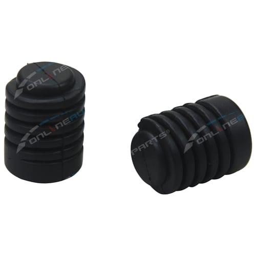 2 Rubber Bonnet Bumper Bump Stops Body Rubber Aftermarket OEM Replacement