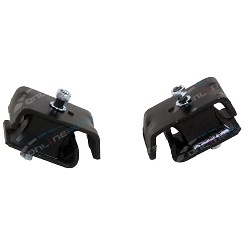 2 Front LH + RH Engine Mounts Suzuki Carry SK410 1986-1991 4cyl F10A 1.0L 970cc - New Pair