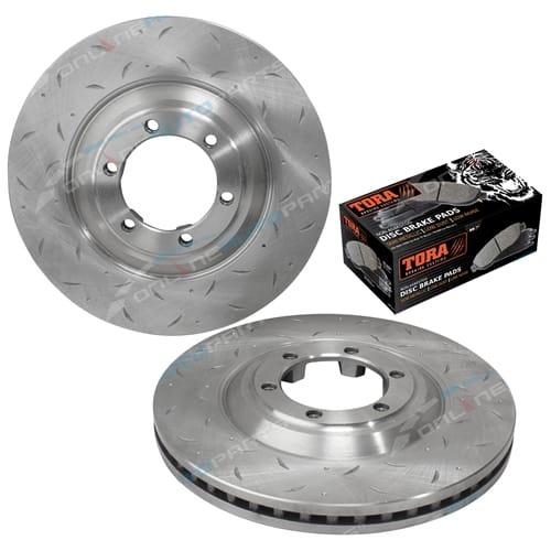 Disc Brake Rotors + Pads Disc Rotor Tora