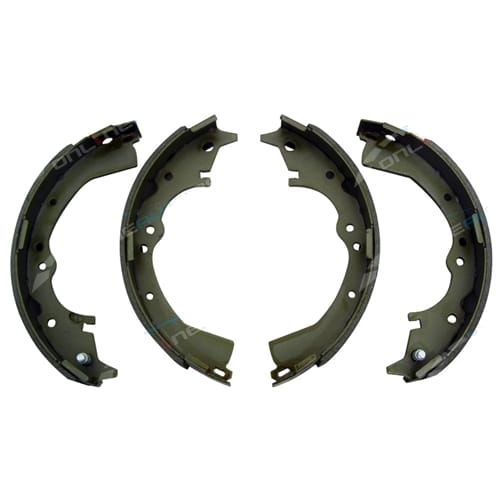 Rear Brake Shoe Set suits Toyota Hilux KUN16 TGN16 GGN15 2x4 RWD Ute 2005-2014