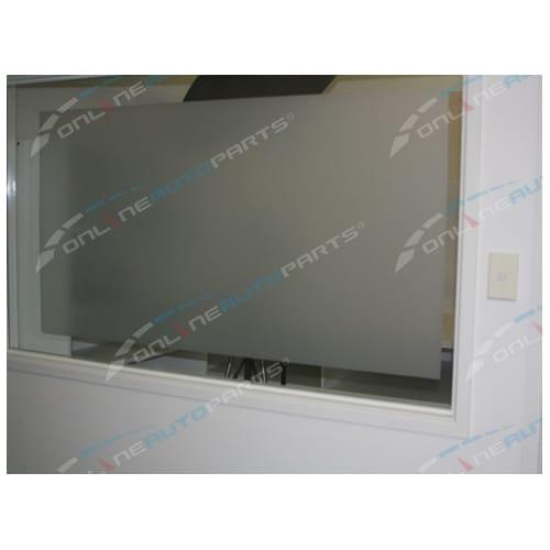 Matt White Frosted Window Glass Film Privacy 76cm Wide x 6m Roll Bathroom Frost