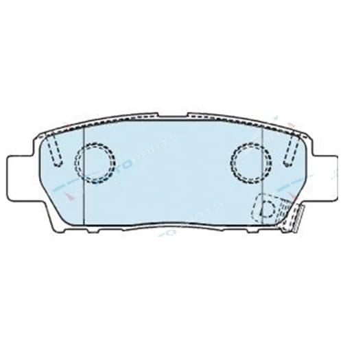 Rear Disc Brake Pad Set suits Toyota Avalon MCX10 V6 3.0L Bendix DB1384 MCX10R