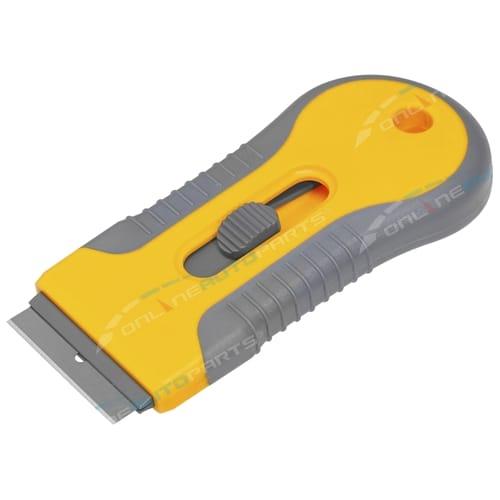Retractable Razor Blade Plastic Tint Scrapper Tool Removal Tool