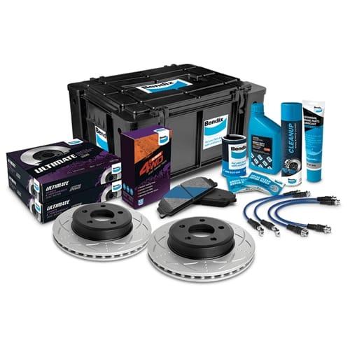 Disc Rotor (Front LH or Front RH) Bendix Ultimate 4WD Brake Upgrade Kit