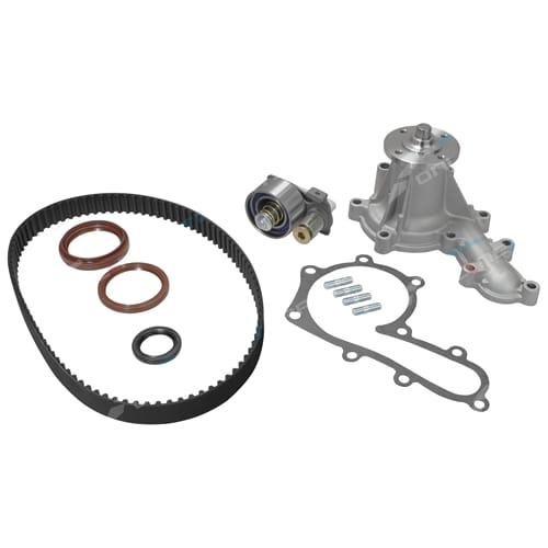 Timing Belt Tensioner Water Pump Kit suits Toyota Landcruiser 1HZ 4.2L Diesel 70 + 80 Series