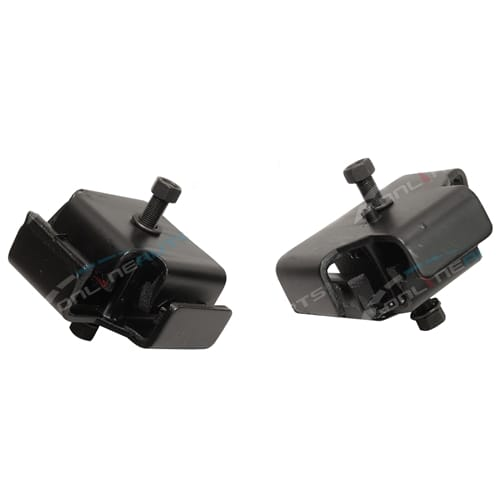 2 Front Engine Mounts suits Toyota Landcruiser HJ60 6cyl 2H 4.0L 3980cc Diesel 60 Series 1980 to 11/1984