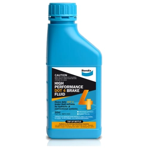 BBF4-500 Brake Fluid Bendix suits Hyundai Tucson TL J281A