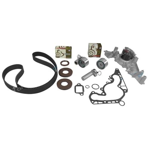 Timing Belt + Water Pump Kit suits Toyota Landcruiser UZJ100 V8 2UZ-FE 4.7L 100 Series V8 with Tensioner