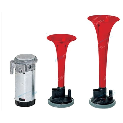 Stebel 12volt Twin Trumpet Car Air Horn Kit