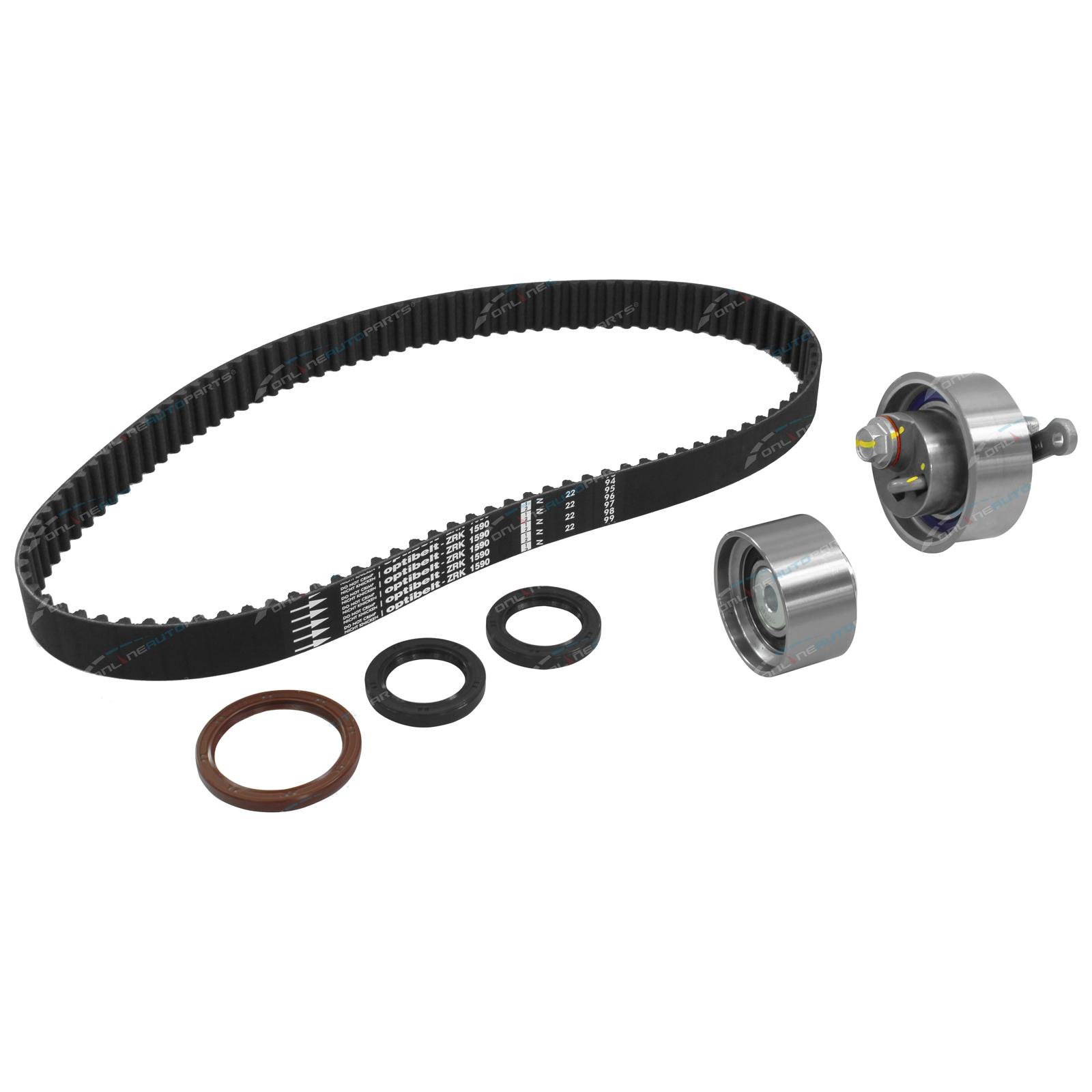 Timing Belt + Tensioner Kit Mazda BT50 B2500 B3000 2006-2011 4cyl WLAT 2 5L  WEAT 3 0L Turbo Diesel