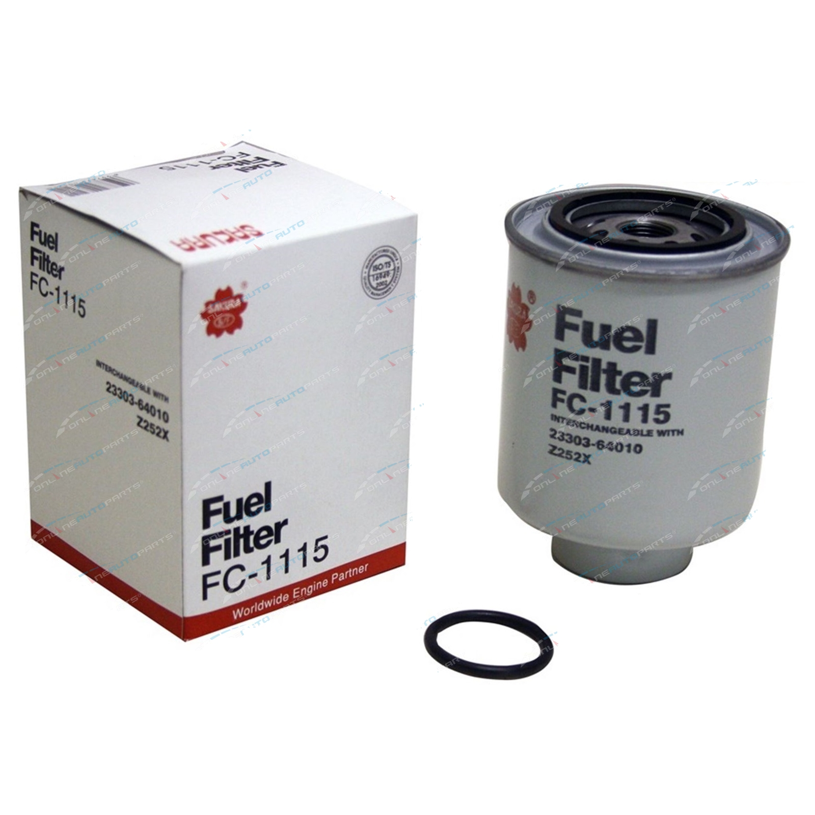 Diesel Fuel Filters Suits Toyota Landcruiser 42l 1hz Bulk Carton Of Click To Enlarge