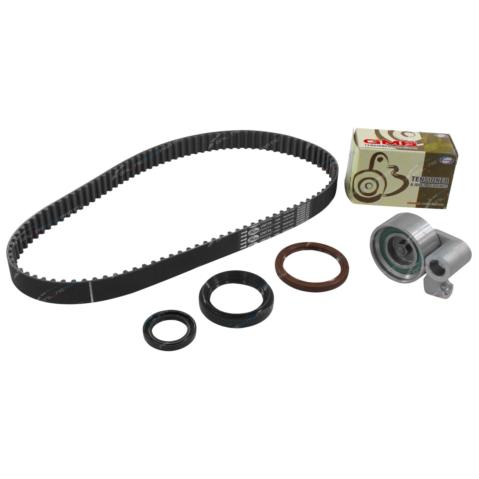 Timing Belt Kit Hilux Surf KZN130 KZN165 1KZ-TE 3 0L Turbo Diesel Tensioner  Seal