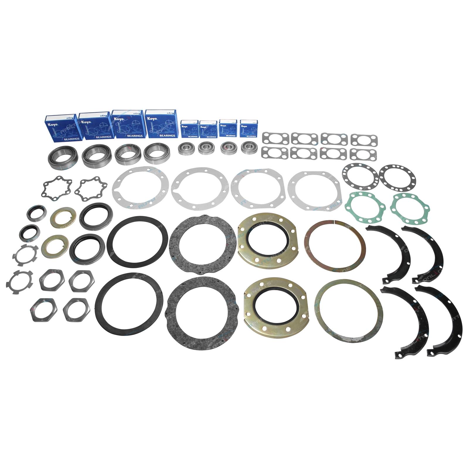 Swivel Hub Bearing Seal Kit suits Toyota Landcruiser 70 75 Series 1990 to 1999 With Wheel Bearings