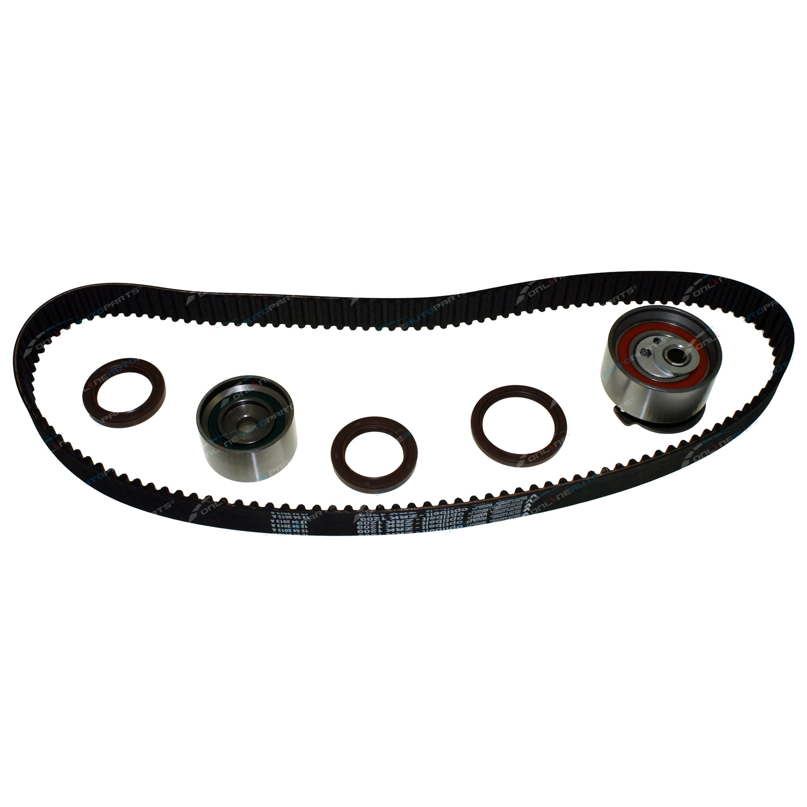 Timing Belt + Tensioner Kit Laser KN KQ 1999-2002 4cyl FP 1.8L 1840cc MPI 16v DOHC Engine - Ford