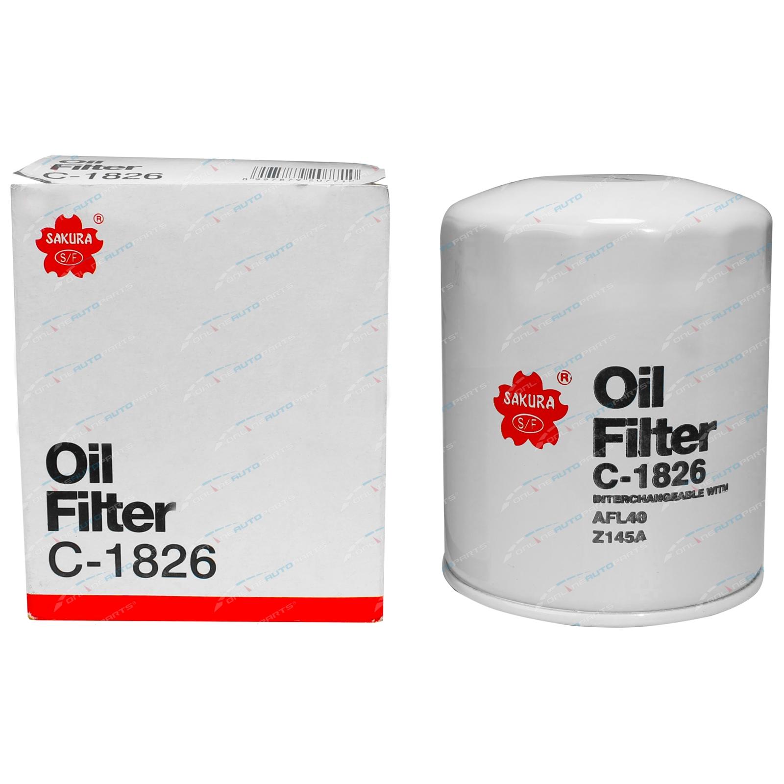 Sakura Engine Oil Filter suits Nissan Cabstar F22 H40 4cyl