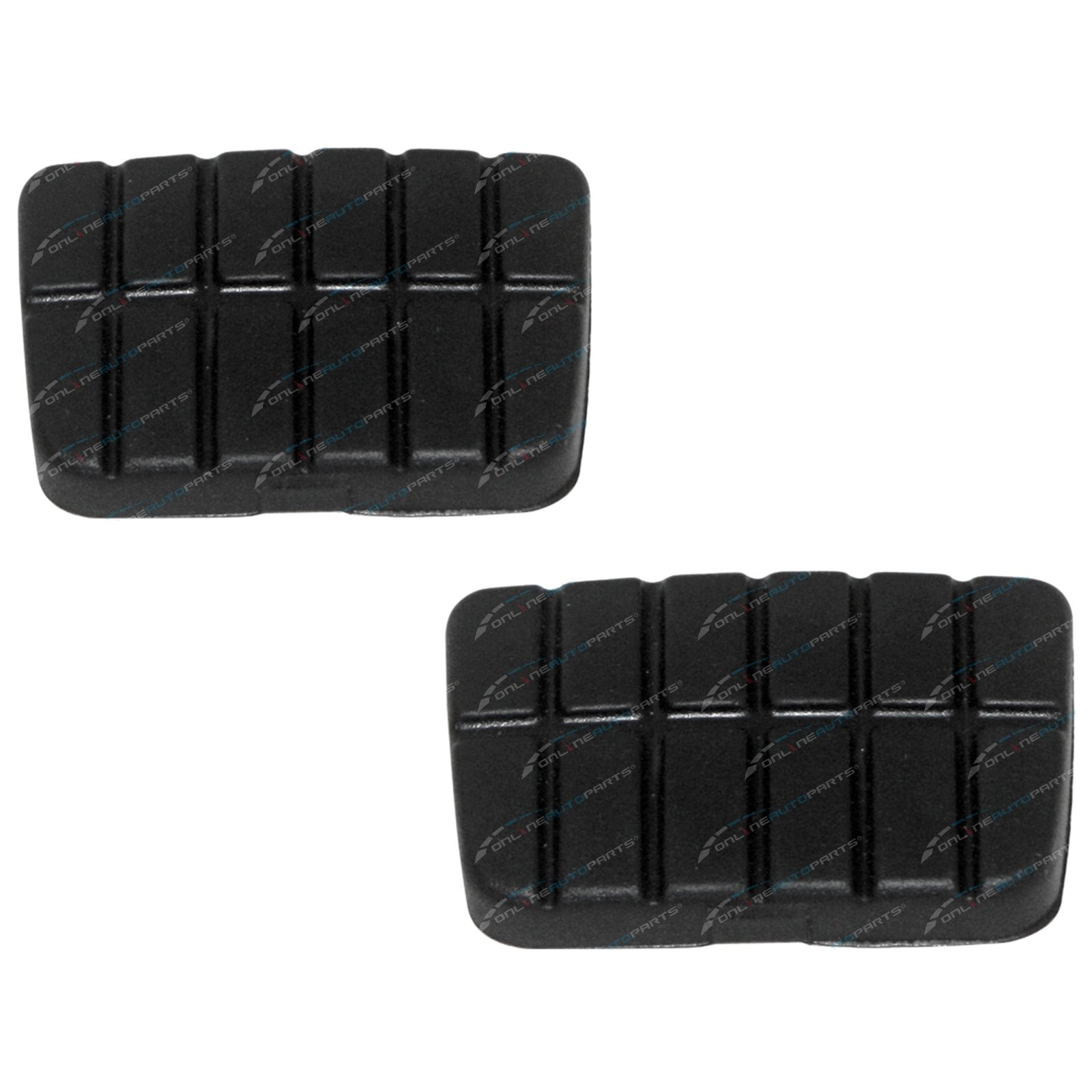 Clutch and Brake Pedal Rubber Pad Navara D21 D22 1986-2013 Manual Pair suits Nissan Pickup