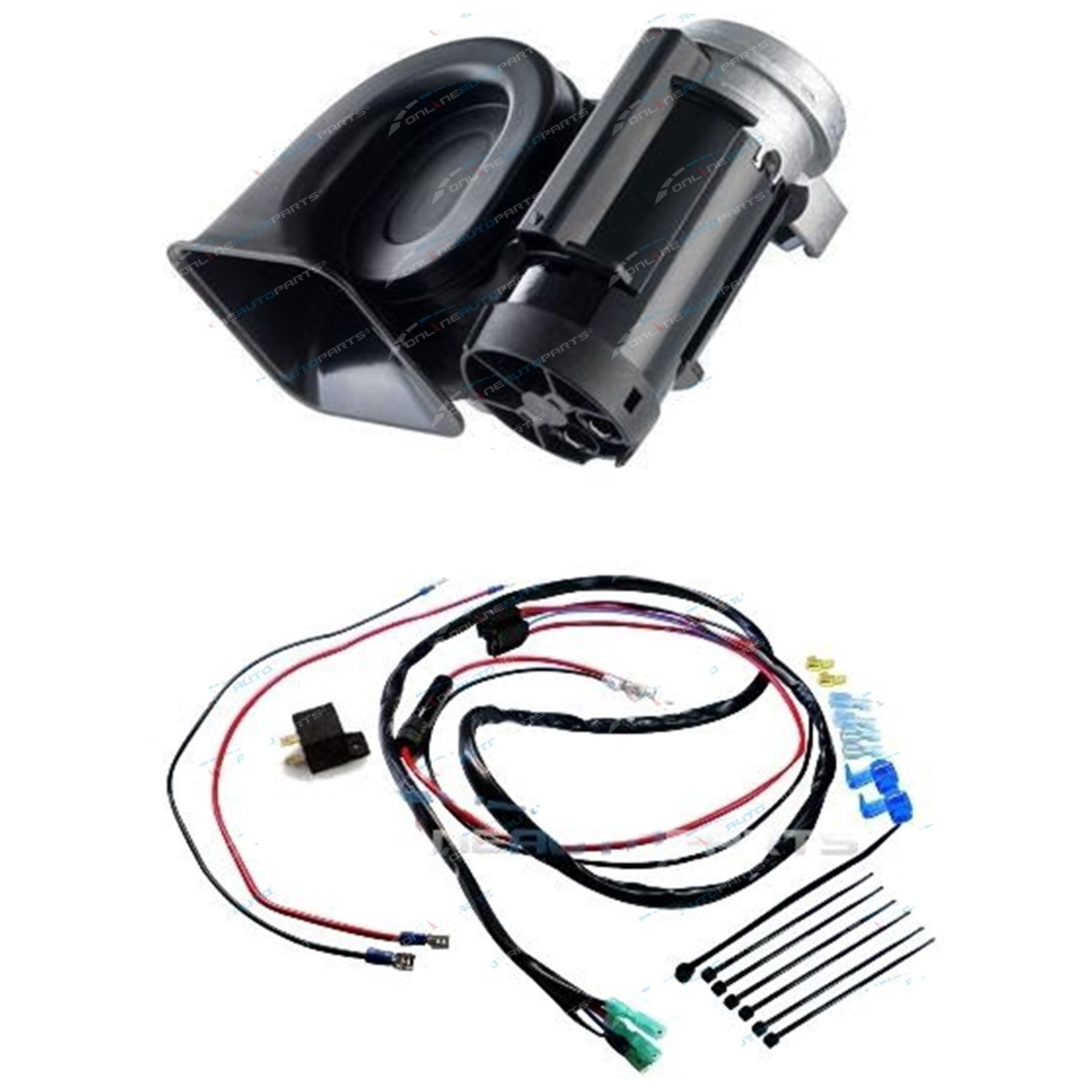 Stebel Nautilus Compact Truck Car Air Horn 12volt 300hz Deep 110db Dodge Relay Wiring Click To Enlarge
