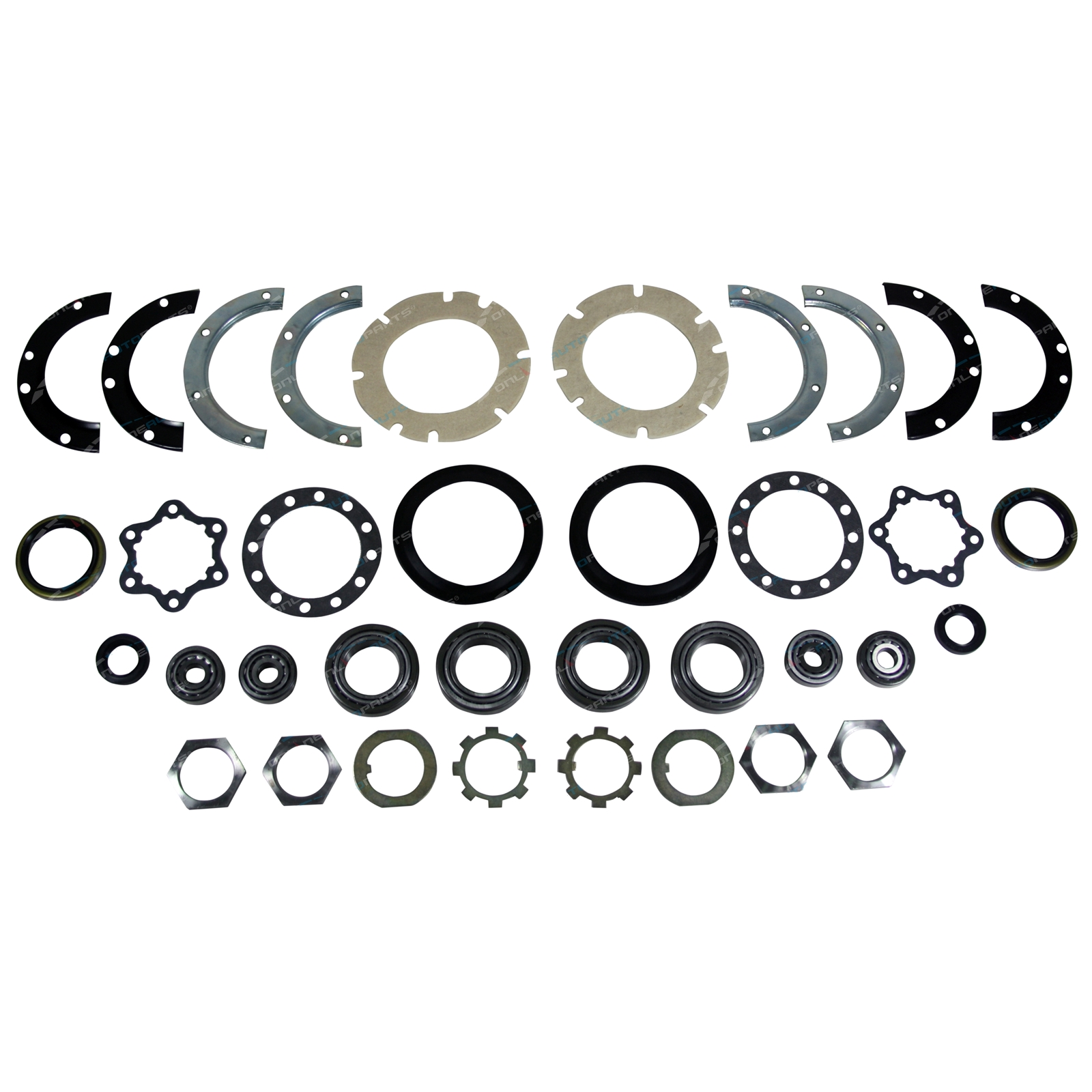 Swivel Hub Wheel Bearing Kit Suzuki Sierra Maruti Samurai King Pin Gearbox Rebuild Click To Enlarge