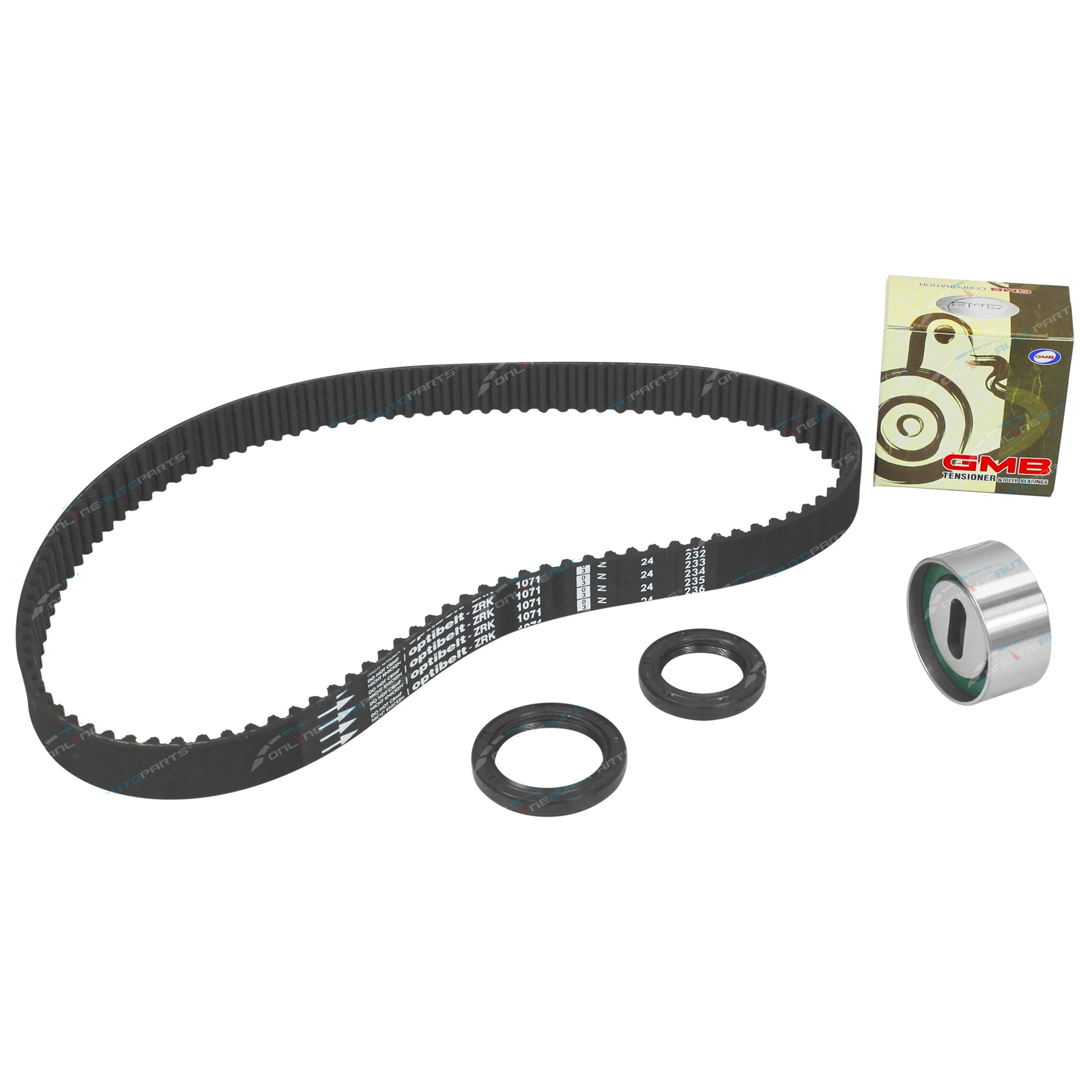 Timing Belt + Tensioner Kit 323 BF BG 1985-96 SOHC 1.6L 1597cc 4cyl B6 B6Y Carb + EFI Engine - Mazda