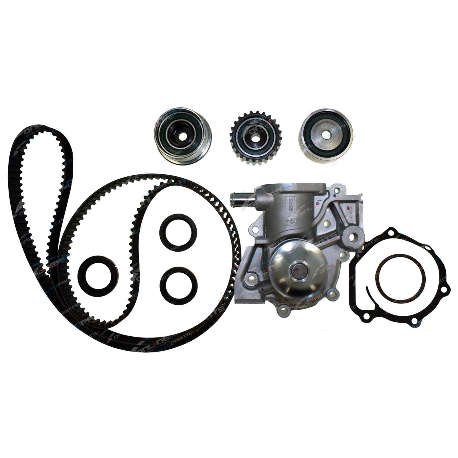 timing belt   water pump kit subaru forester sg sh 2002