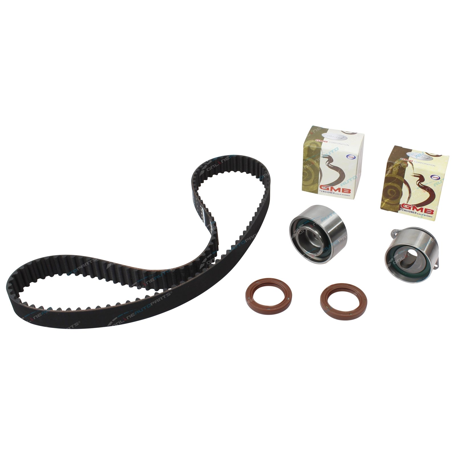 Timing Belt + Tensioner Kit Econovan JH 2003-2005 4cyl F8 1.8L 1789cc EFI 8v SOHC Engine - Ford